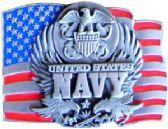 24 Units of Navy Belt Buckle - Belt Buckles