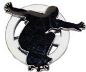24 Units of Skater Spinner Belt Buckle - Belt Buckles