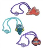 24 Units of Dory Hair Accessories - PonyTail Holders