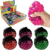 96 Units of Mesh Grape Squeeze Stress Ball