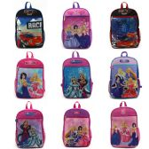 "24 Units of 15"" Character Assortment Backpacks - Backpacks 15"" or Less"