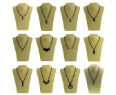36 Units of Assortment of hematite necklaces - Necklace