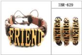 60 Units of Leather Bracelet FRIEND