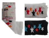 48 Units of Black and white capri tights with star designs. - Womens Tights