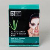 96 Units of Facial Masks 2 count Aloe Vera Spa Treatment Boxed