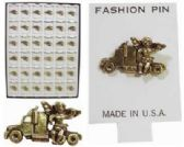 144 Units of Angel Riding Truck Pins - Sewing Supplies