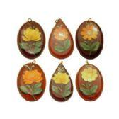 72 Units of Acrylic flower pendants