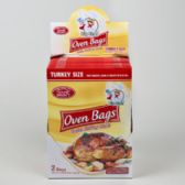 96 Units of Oven Bags 2ct Turkey Size In 24pc Display
