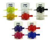 72 Units of assorted color acrylic barrettes - Barrett