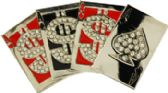 36 Units of Playing Cards Belt Buckle