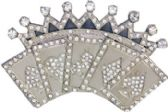 36 Units of Crown Cards Belt Buckle