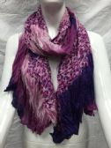 36 Units of Ladies Fashion Crinkle Scarf