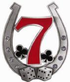 24 Units of Horse Shoe Seven Belt Buckle