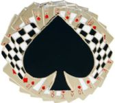 36 Units of Spade Cards Belt Buckle