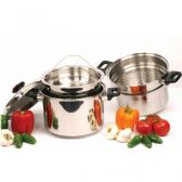 8qt Stainless Steel Spaghetti Cooker - Stainless Steel Cookware Sets