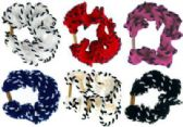 72 Units of Assorted color scrunchies