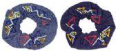 72 Units of Denim scrunchie - Hair Scrunchies