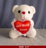 48 Units of 6.3' GET WELL SOON BEAR - Plush Toys