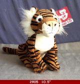 "24 Units of 10.5"" Plush Toy Tiger - Plush Toys"