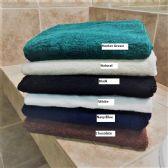 12 Units of Millennium Bath Towels Superior Quality 27 x 52 Hunter Green