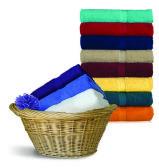 24 Units of Royal Comfort Luxury Bath Towels 24 x 48 Caribbean Blue