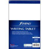 12 Units of Unruled Writing Pad - Notebooks