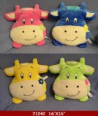 "12 Units of 6"" x 16"" COW PILLOW"