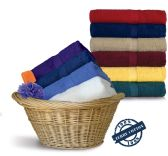 24 Units of Royal Comfort Luxury Bath Towels 30 x 52 Sunshine Yellow - Bath Towels