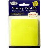 48 Units of 3 Pack Sticky notes, 50 sheets each - Sticky Note/Notepads