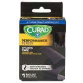 48 Units of Sports Tape Performance Series 1ct Blk Curad - Bandages and Support Wraps