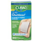 48 Units of Bandages Curad 20ct Ouchless 1 In Spot Silicone - Bandages and Support Wraps