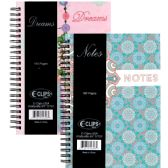 "36 Units of Fancy journal, ""Notes & Dreams"", 6x8.5, 160 sheets"