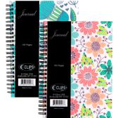 36 Units of Fancy journal, flowers, 6x8.5, 160 sheets