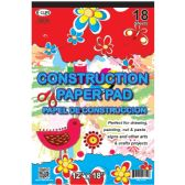 "48 Units of Construction Paper Pad - 18Sheets- 12"" x 18"" - PAPER"