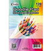 "36 Units of 6"" X 9"" Doodle Pad - 120 Sheets - Sketch, Tracing, Drawing & Doodle Pads"