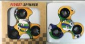 48 Units of Wholesale Soccer Ball Turbo Graphic Fidget Spinners
