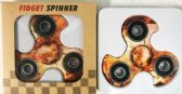 48 Units of Wholesale Fire Basketball Graphic Turbo Fidget Spinners - Fidget Spinners