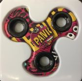 48 Units of Wholesale Panic Turbo Graphic Fidget Spinners - Fidget Spinners