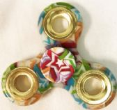 48 Units of Wholesale Multicolor Star Fidget Spinners