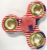 48 Units of Wholesale American Flag Fidget Spinner - Fidget Spinners