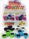 24 Units of Wholesale Solid Color Turbo Shaped Fidget Spinner Display - Fidget Spinners