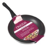 6 Units of 10in Aluminum Black Non-stick Oneida Fry Pan