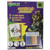 32 Units of Activity Kit Tmnt Pop Out