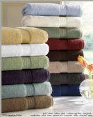 2 Units of Designer Luxury Bath Towel Set in Smoke Blue - Bath Towels