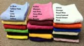 36 Units of Luxury Heavy Duty Hand Towels in 16 x 25 Lime