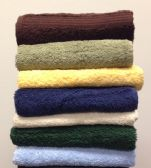 36 Units of Majestic Salon Hair Towels 16 x 28 in Chocolate Brown