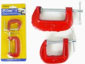 "96 Units of 2pc G-Clamps 1'+2"" Long - Clamps"