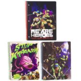 72 Units of Tmnt Spiral Bound Assorted Notebook 8.5 X 11 - Notebooks