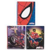 72 Units of Spiderman Spiral Bound Assorted Notebook 8.5 X 11 - Notebooks