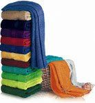 24 Units of Beach Towels Solid Color 100% Cotton 30 x 60 Red